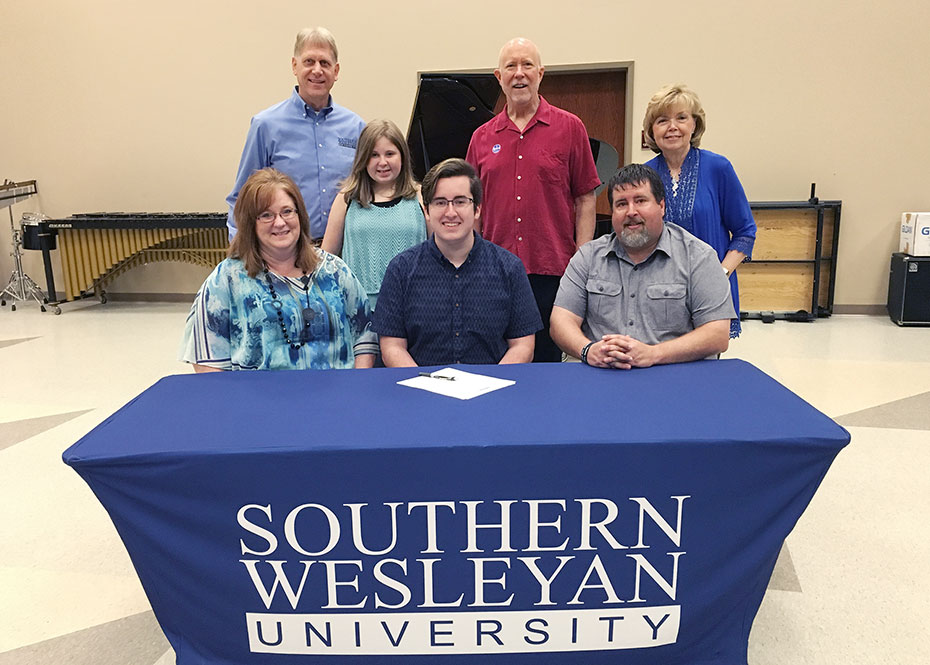 Wheeler Receives Swu Music Scholarship Southern Wesleyan