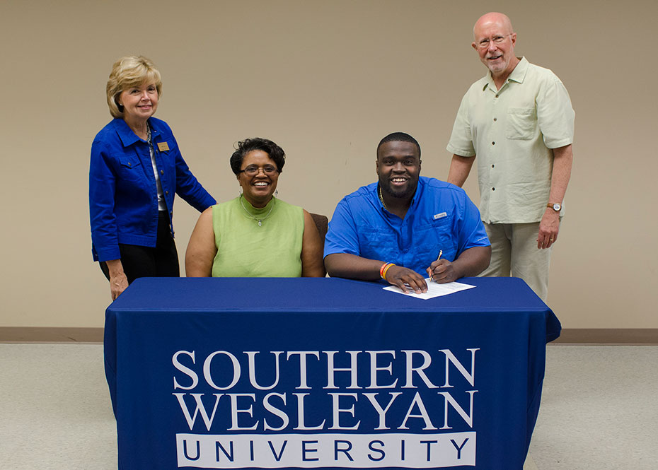 Seneca High S Simpson Receives Swu Music Scholarship